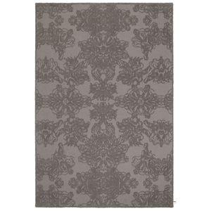 alfombra clásica / con motivos adamascados / de lana / rectangular