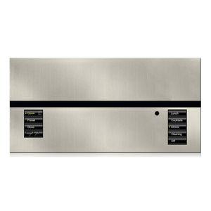 teclado de control para sistema domótico / para iluminación / mural / inalámbrico