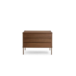 cómoda contemporánea / de madera
