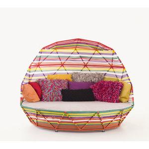 cama de jardín redonda