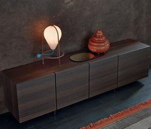 aparador contemporáneo / de chapa de madera / de MDF / de Jean-Marie Massaud