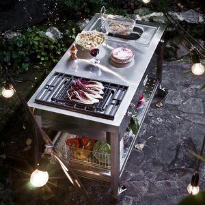 mueble de cocina para jardín