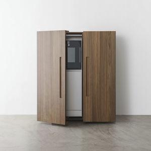 armario de cocina contemporáneo / de madera