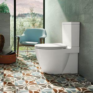 WC de pie / monobloque / de cerámica