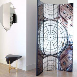 biombo contemporáneo / de MDF / con espejo