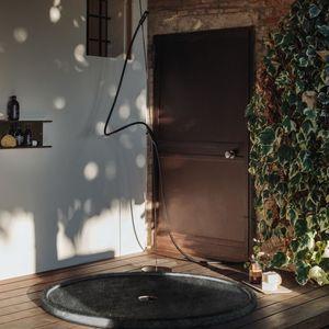 ducha de aluminio