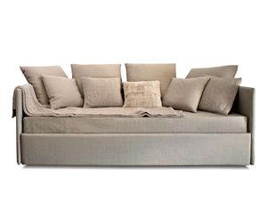 sofá cama / contemporáneo / interior / de tejido