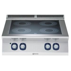 placa de cocina de vitrocerámica / profesional / modular / 4 fuegos