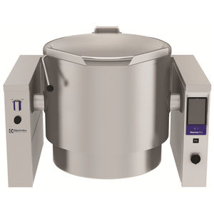 marmita eléctrica / de vapor / basculante / profesional