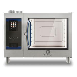 horno profesional / de gas / colocación libre / estático