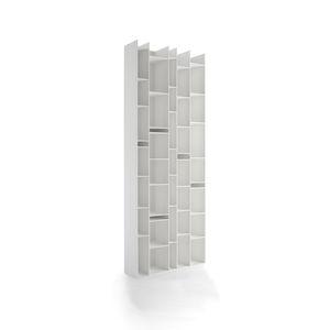 armario de pared / contemporáneo / de madera / para el sector servicios