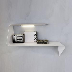 estantería mural / contemporánea / de Cristalplant® / con luz