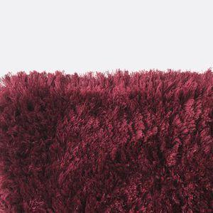alfombra contemporánea / de color liso / de viscosa / de bambú