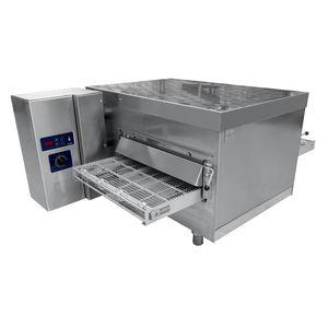 horno profesional / eléctrico / colocación libre / con transportador