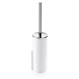 escobilla para inodoro de metal cromado