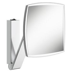 espejo para baño de pared / con luz LED / de aumento / contemporáneo