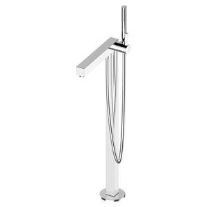 grifo monomando para bañera / para suelo / de metal cromado / de baño