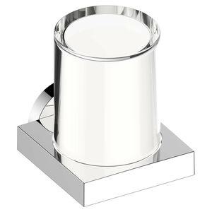dispensador de jabón para hotel / de libre instalación / de cristal / manual
