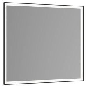 espejo para baño de pared / con luz LED / contemporáneo / cuadrado