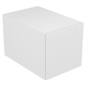 mueble de baño contemporáneo / de madera / de pared / con cajón