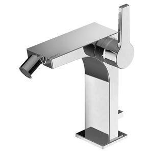 grifo monomando para bidé / de metal cromado / mecánico / de baño