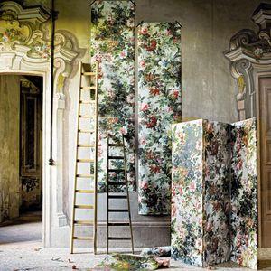 revestimiento de pared de tejido / para uso residencial / impreso / para interior