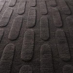 alfombra contemporánea / con motivos geométricos / a cuadros / multicolor