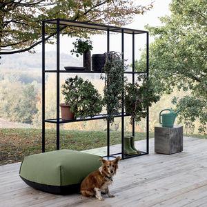 estantería de diseño minimalista / de metal / de exterior