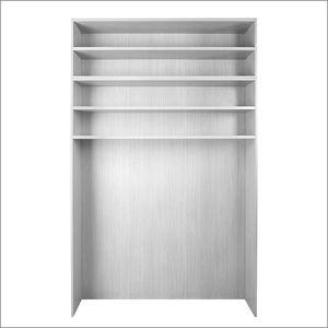 armario de almacenamiento para equipamientos deportivos / para el sector servicios