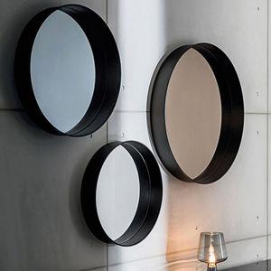 espejo de pared / contemporáneo / redondo / para el sector servicios