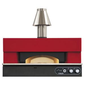 forno para pizzas profesional / de gas / colocación libre / con 1 cámara