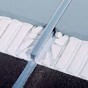junta de dilatación de PVC / de metal / para pavimento