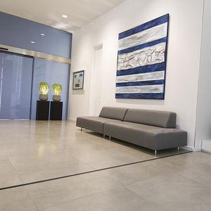 junta de dilatación de aluminio / para pavimento