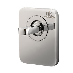 grifo monomando para ducha / encastrable / de metal cromado / de baño