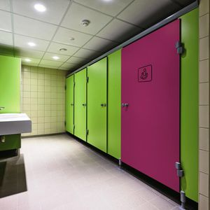 cabina sanitaria para baño para baño público