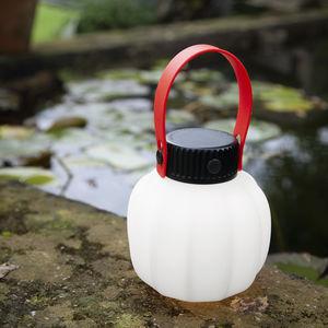 lámpara portátil / contemporánea / de polietileno rotomoldeado / de resina