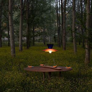 lámpara suspendida