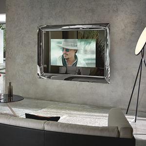 espejo televisor de pared