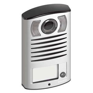 placa con cámara / con lector de proximidad / de aluminio