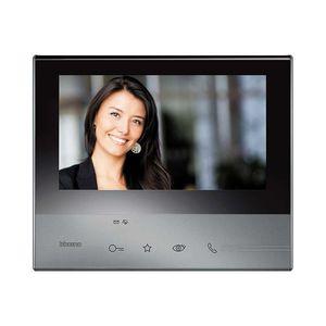 videoportero con manos libres / con pantalla a color / táctil / de acero inoxidable