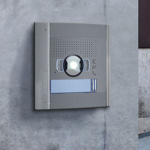 placa con cámara / modular / de metal