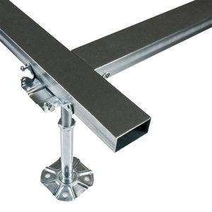 estructura para suelo técnico de metal / de interior