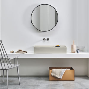 lavabo sobre mueble