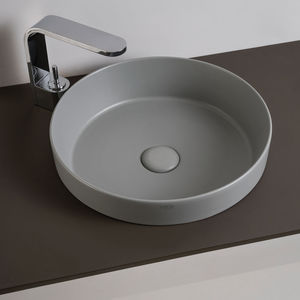 lavabo semiencastrado