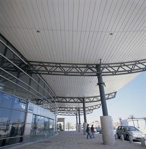 falso techo de aluminio / tipo panel
