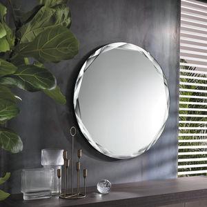 espejo de pared / con luz / para salón / para dormitorio