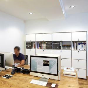 armario de oficina alto
