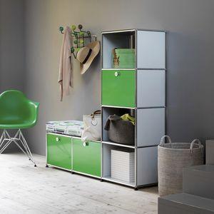 mueble de entrada contemporáneo / MDF / con almacenamiento / con cajón