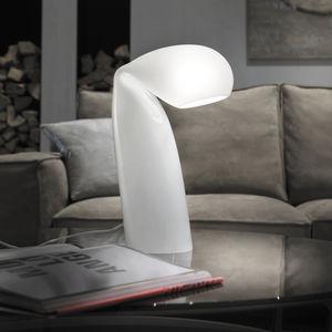 lámpara de mesa / de diseño original / de vidrio / hecha a mano