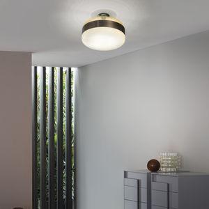 plafón contemporáneo / redondo / de vidrio soplado / de cristal de Murano
